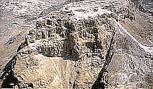 Masada , the Jewish fortess stronghold